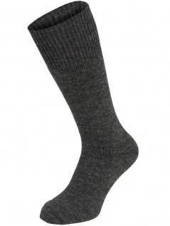 Socke extrawarm grau