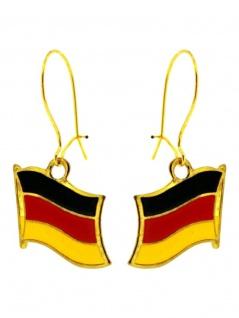 Ohrring Flagge Deutschland