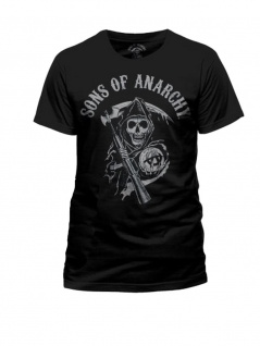 Sons of Anarchy T-Shirt Reaper Logo