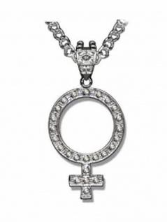 Hip Hop Halskette Symbol Venus
