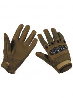 Handy Handschuhe Biker coyote
