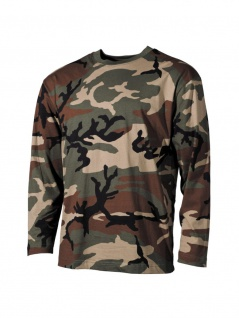 US Army Longsleeve Shirt woodland