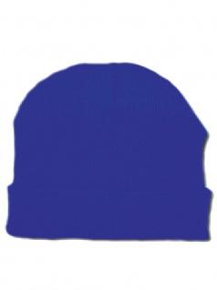 Beanie blau