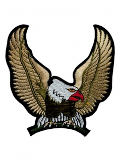 Aufnäher Adler gold klein