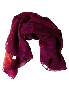 Polyester Tuch magenta Textur