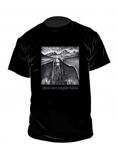 Ildjarn Hate Forest T-Shirt Those Once Mighty Fallen