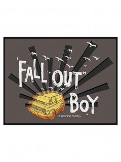 Aufnäher Fall Out Boy Van Burst