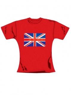 T-Shirt Großbritanien in rot