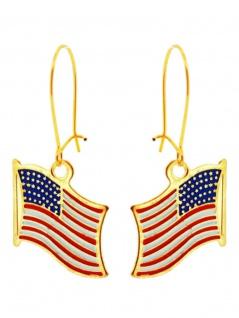 Ohrring Flagge USA