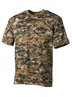 US Army T-Shirt Digital Woodland