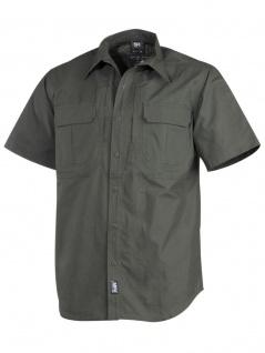 Taktisches Kurzarmhemd oliv Rip Stop Teflon