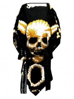 Bandana Cap Totenkopf mit Hörner