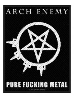 Aufnäher Arch Enemy Pure Fucking Metal