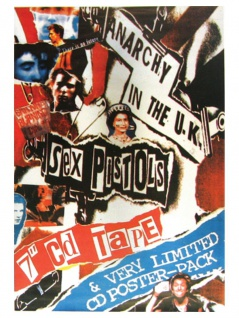3 Sex Pistols Limited Postkarten