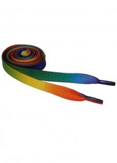 Schnürsenkel rainbow bunt