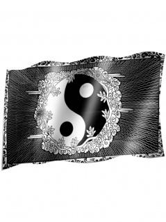 Fahne Yin Yang