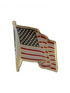 Anstecker Pin Fahne USA