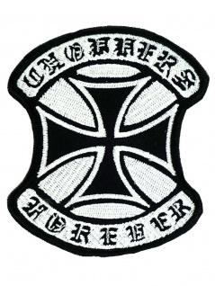 Aufnäher Eisernes Kreuz forever