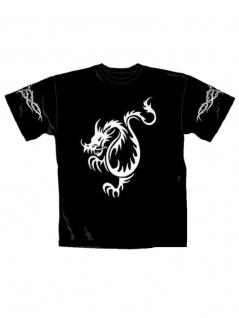T-Shirt Drache Tribal