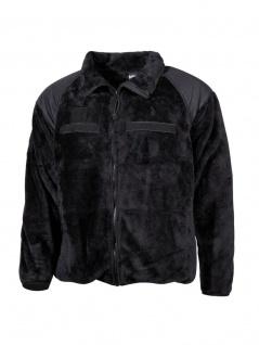 US Fleece-Jacke schwarz
