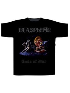 Blasphemy T-Shirt Gods of War schwarz Gr. XL
