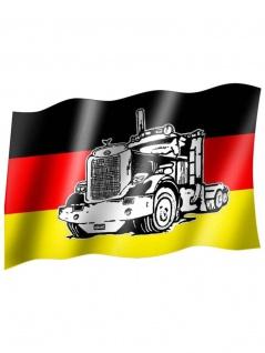 Fahne Deutschland Truck