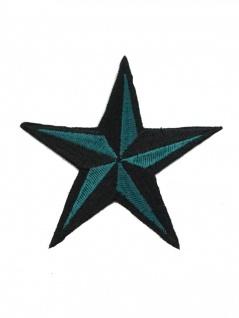 Aufnäher Stern grün