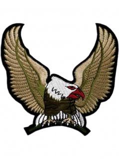 Aufnäher Adler gold