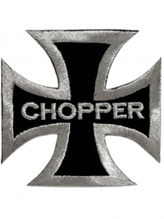 Aufnäher Eisernes Kreuz Chopper