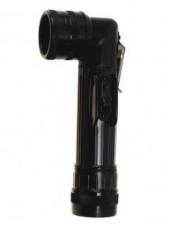 US Army Taschenlampe groß schwarz