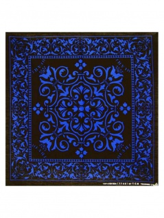 Bandana Orientalisch Schwarz Blau