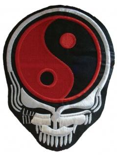 Aufnäher Yin Yang Skull