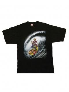 T-Shirt Skull Surfer