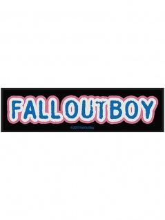 Superstrip Aufnäher Fall out Boy
