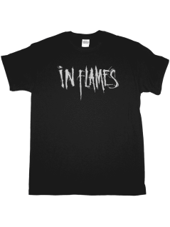 In Flames T-Shirt schwarz Logo