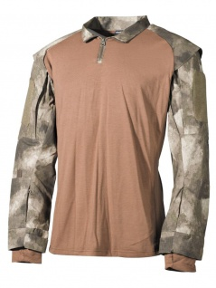 US Tactical Hemd Langarm HDT-camo
