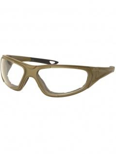 Biker Goggle Sportbrille mit Ersatzgläser coyote tan