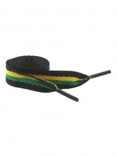 Trendy Schnürsenkel Jamaika breit