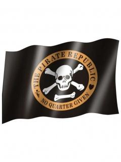 Fahne Piraten Republic