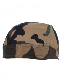 Bandana Headwrap Cap woodland
