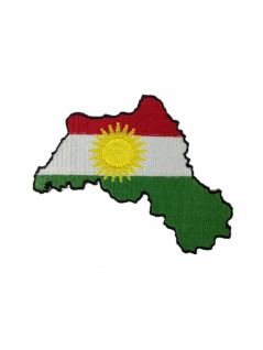 Aufnäher Kurdistan Land