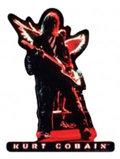 3 Aufkleber Kurt Cobain