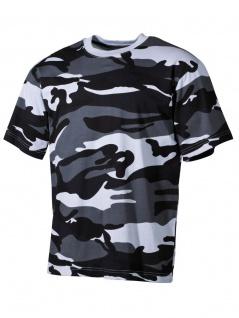 US Militär T-Shirt Skyblue