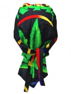 Bandana Cap Hanf grün schwarz