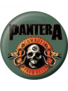 2 Button Pantera Cowboys from Hell