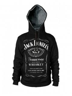 Hoodie Jack Daniels schwarz