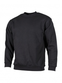 Sweatshirt Longsleeve schwarz