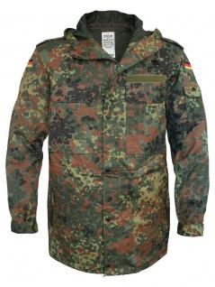 Bundeswehr Parka flecktarn