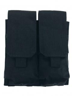 Magazintasche doppelt MOLLE Modular System schwarz