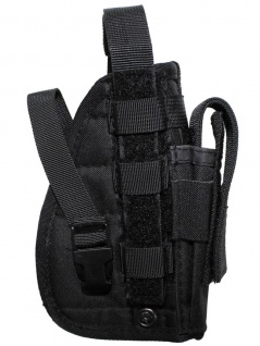 Pistolenholster Molle System schwarz